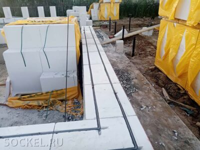 Строительство одноэтажного дома, Звенигород