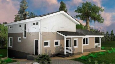Строительство двухэтажного дома, Яхрома, Московская область