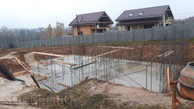 Строительство двухэтажного дома, Серпухов, Московская область
