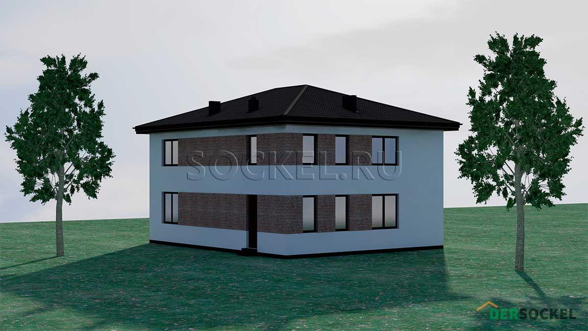 Проект дома BD-002
