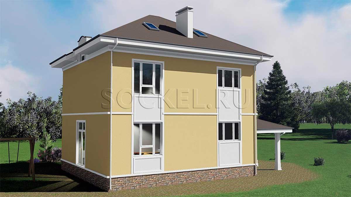 Проект дома BD-003