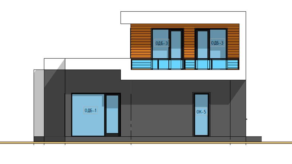 Проект дома BD-004