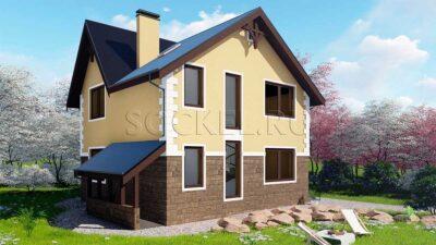 Проект дома BD-005