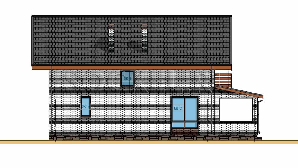 Проект дома BD-006