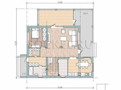 Проект дома BD-007