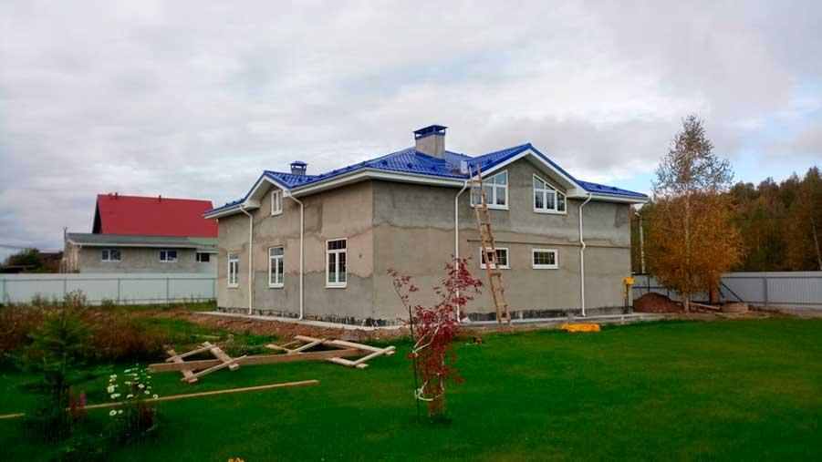 Строительство дома д. Старые Кузьменки