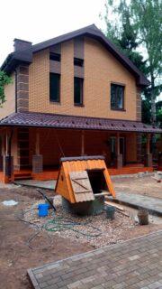 Строительство дома г.Пушкино