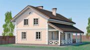 Строительство дома п. Подосинки