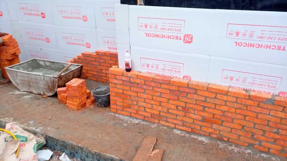 Строительство цокольного этажа