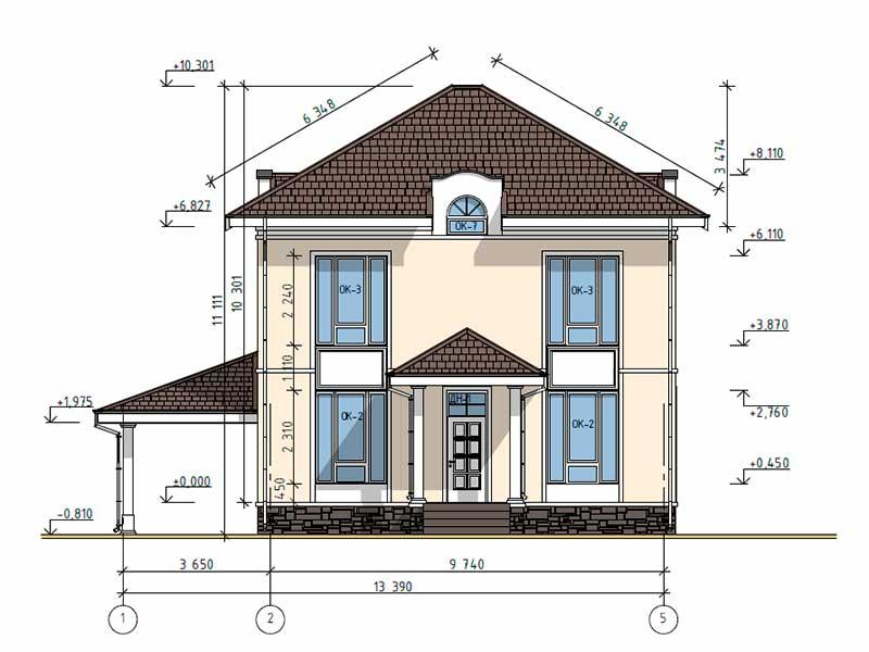 Строительство жилого дома, п. Воскресенское, Новая Москва