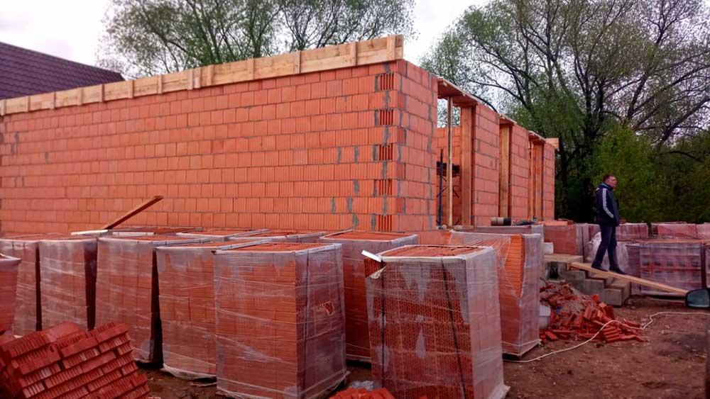 Строительство жилого дома, Воскресенское, Новая Москва