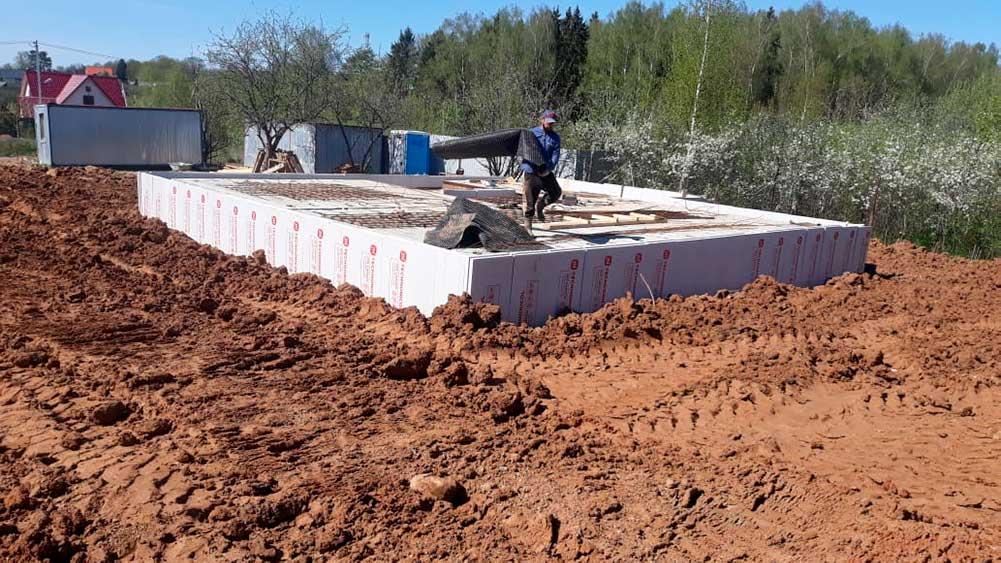 Заканчиваем строительство цокольного этажа, Михайлово-Ярцевское, Новая Москва